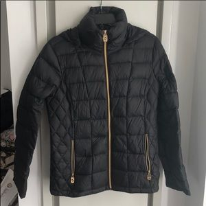 Michael Kors Black Down Jacket